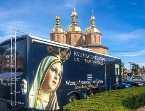 Our Lady of Fatima visits St. Josaphat Parish in Parma