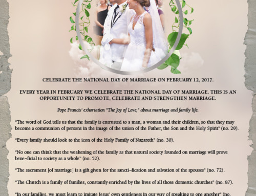 Celebrate the National Day of Marriage on February 12, 2017