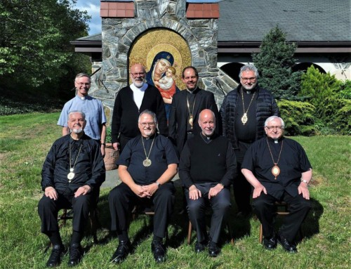 UKRAINIAN CATHOLIC BISHOPS OF CANADA AND USA MEET IN GLEN COVE, NY