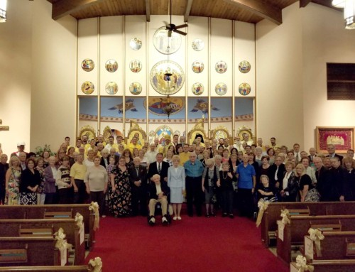 St. Anne Ukrainian Catholic Church in Austintown, Ohio Celebrates Golden Jubilee