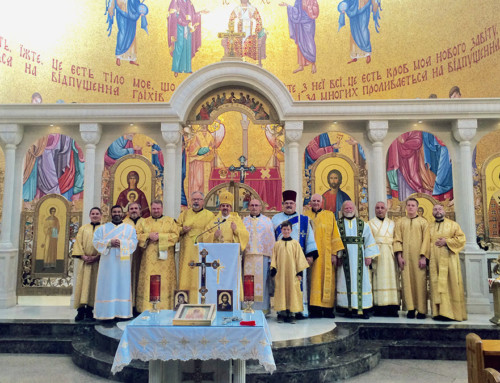 Diaconal Retreat for the Ukrainian Catholic Eparchy of St. Josaphat in Parma