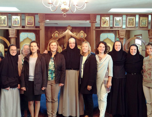 Retreat for priest's wives at Christ the Bridegroom Monastery