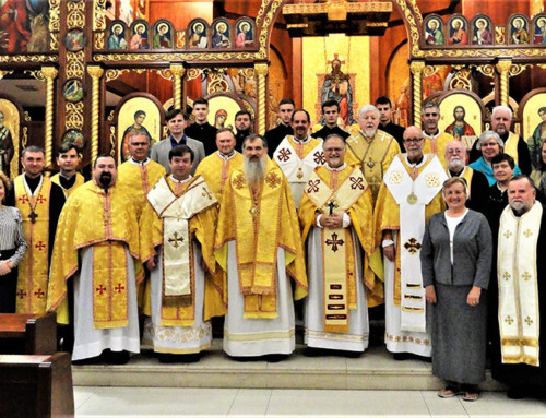 Ukrainian Catholic Patriarchal Catechetical Commission Meets with U.S. Bishops and Eparchial Representatives in Stamford, CT