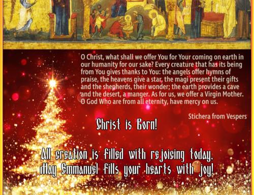 Christmas Greetings from Bishop Bohdan