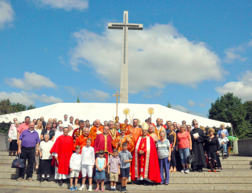 Eparchy of St. Josaphat in Parma Held an Annual Pilgrimage to the Shrine of the Holy Cross