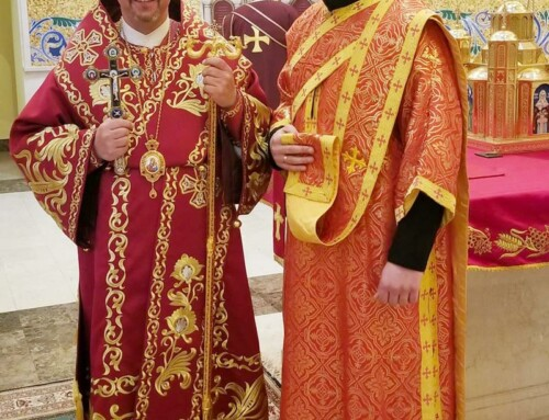 Ordination to Diaconate of Sviatoslav Ditchuk