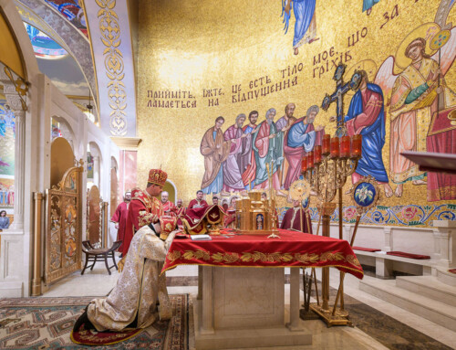 Bishop Bohdan J. Danylo Ordains a New Priest for St. Josaphat Eparchy
