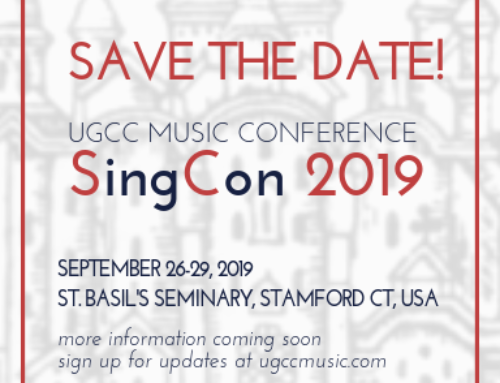 UGCC Music Conference 2019