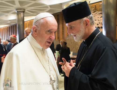 Pope Francis Meets with Ukrainian Church Leaders over Two Days