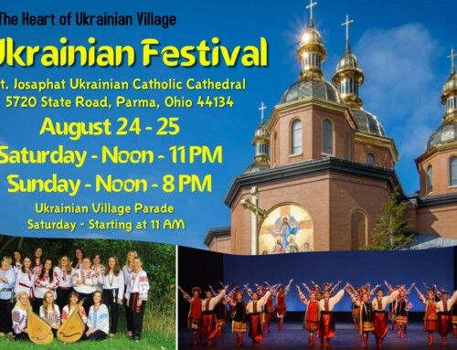 Ukrainian Festival at St Josaphat Cathedral, August 24-25, 2019